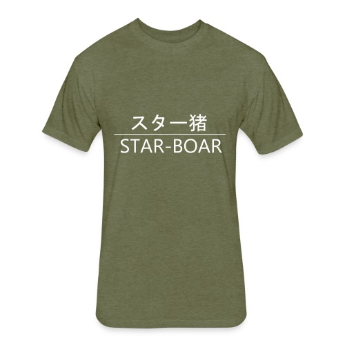 Star-Boar - Fitted Cotton/Poly T-Shirt by Next Level