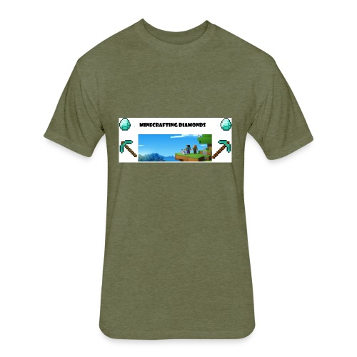 Mine merch - Fitted Cotton/Poly T-Shirt by Next Level