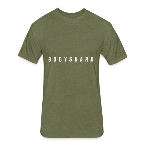 Bodyguard - Fitted Cotton/Poly T-Shirt by Next Level