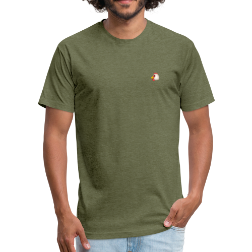 PUBG Chicken Dinner - Fitted Cotton/Poly T-Shirt by Next Level