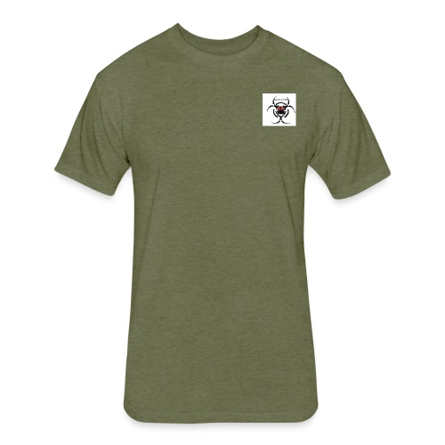 klevin gaming - Fitted Cotton/Poly T-Shirt by Next Level