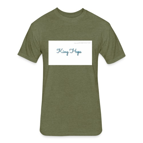 King Hops T-shirt - Fitted Cotton/Poly T-Shirt by Next Level