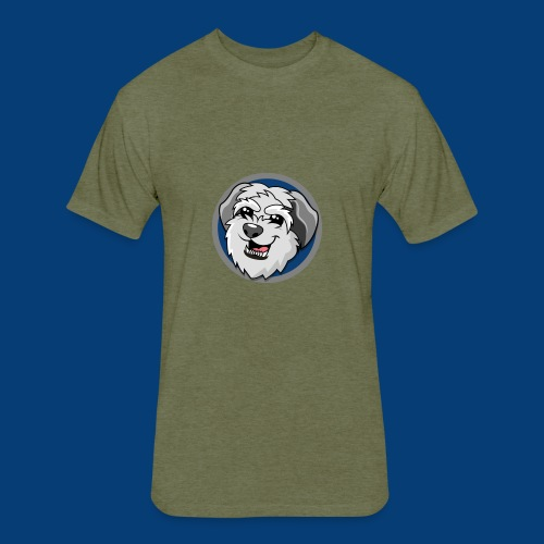 Doggie - Fitted Cotton/Poly T-Shirt by Next Level