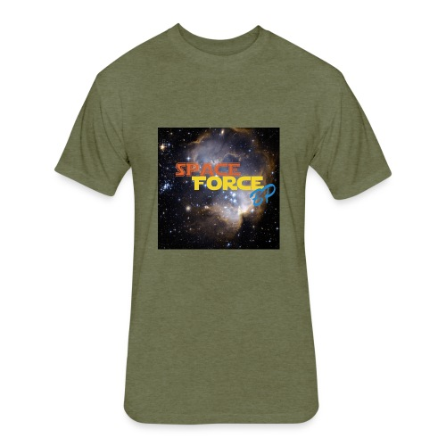 Space Force BP Mach Up 2 - Fitted Cotton/Poly T-Shirt by Next Level