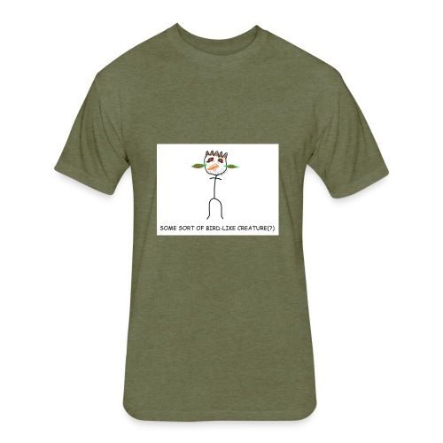 Bird watching shirt - Fitted Cotton/Poly T-Shirt by Next Level