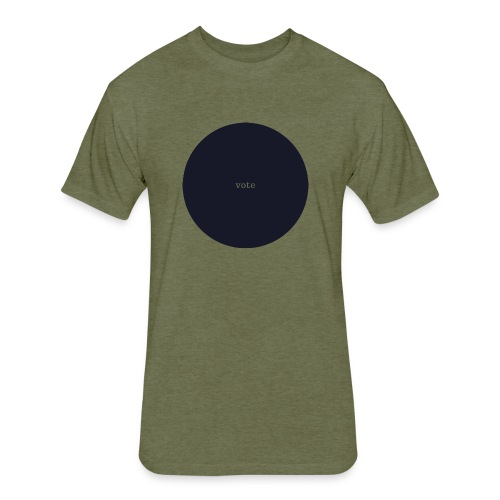 circle vote - Fitted Cotton/Poly T-Shirt by Next Level