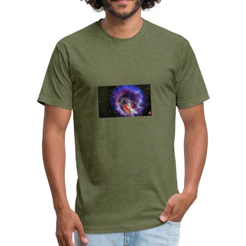 whattinypart - Fitted Cotton/Poly T-Shirt by Next Level