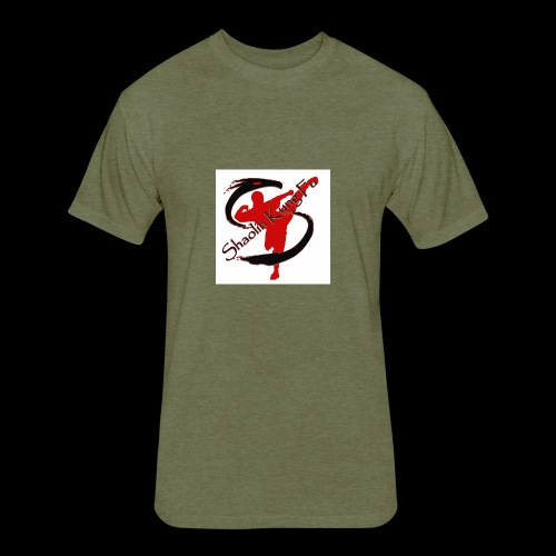 Logo 2008cleanMed full - Fitted Cotton/Poly T-Shirt by Next Level