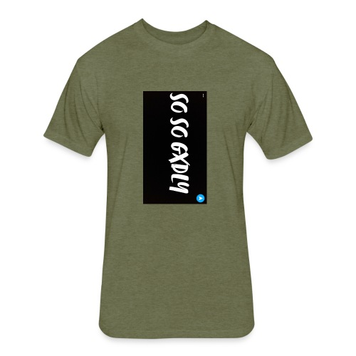 Classic GXDLY logo - Fitted Cotton/Poly T-Shirt by Next Level