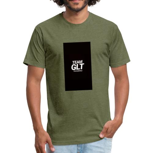 Team GLT Costoms - Fitted Cotton/Poly T-Shirt by Next Level