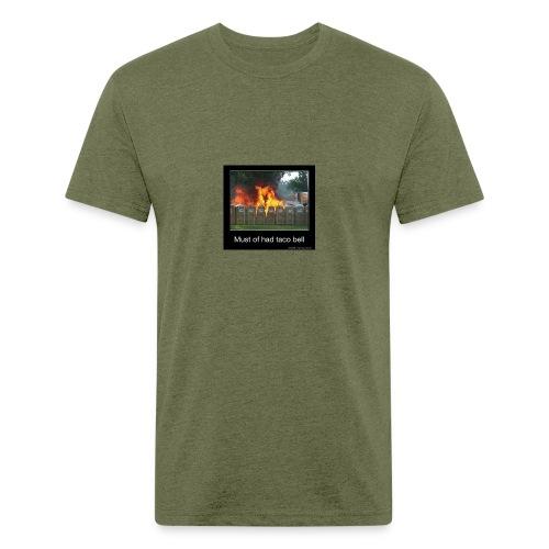 5C16EB7D 091B 43ED B92D F262F3448275 - Fitted Cotton/Poly T-Shirt by Next Level