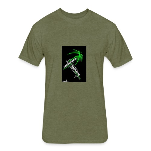 Basketball Customized T-shirts,Hoodies and More - Fitted Cotton/Poly T-Shirt by Next Level