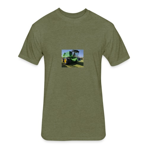 John Deere S670 Combine Shirt - Fitted Cotton/Poly T-Shirt by Next Level