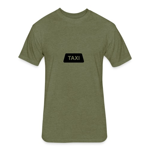 Meme.driver Taxi Logo - Fitted Cotton/Poly T-Shirt by Next Level