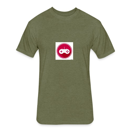 Controller logo - Fitted Cotton/Poly T-Shirt by Next Level