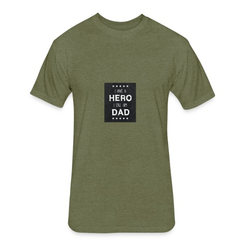 best dad quotes best dad sayings images free stock - Fitted Cotton/Poly T-Shirt by Next Level