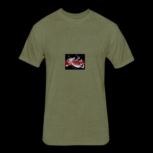 ROACHCREW - Fitted Cotton/Poly T-Shirt by Next Level