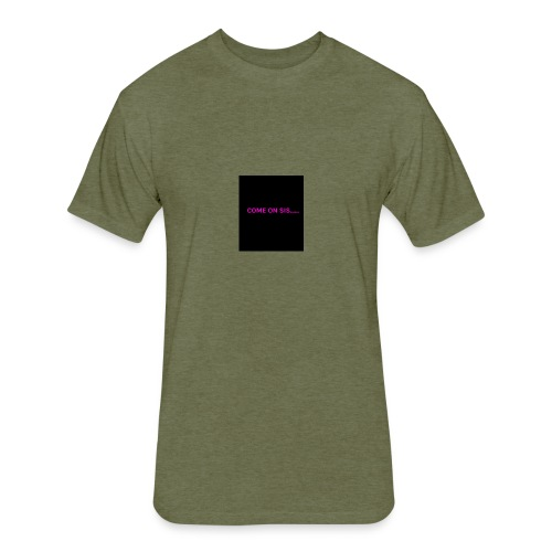 Sis - Fitted Cotton/Poly T-Shirt by Next Level