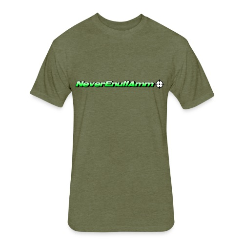 NEA Logo 2 - Fitted Cotton/Poly T-Shirt by Next Level
