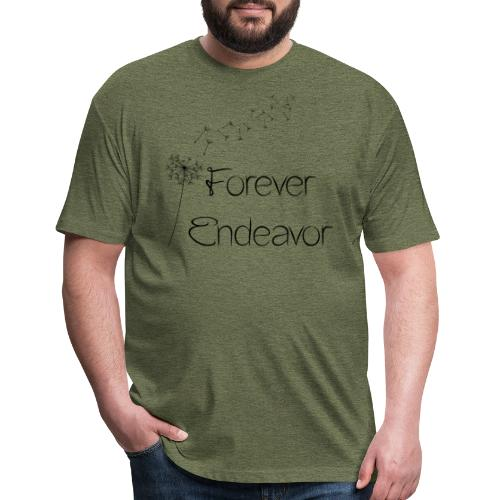 Forever Endeavor Dandelion - Fitted Cotton/Poly T-Shirt by Next Level