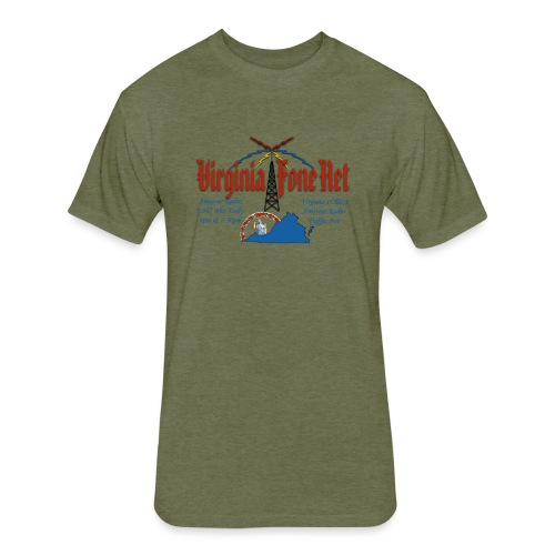 VFN 3947 Logo - Fitted Cotton/Poly T-Shirt by Next Level