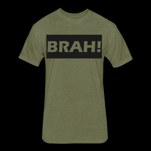 BRAH - Fitted Cotton/Poly T-Shirt by Next Level