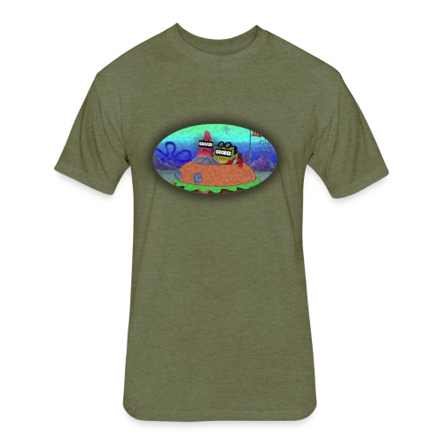 Goofed v1 - Fitted Cotton/Poly T-Shirt by Next Level