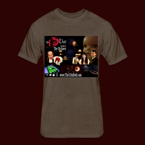 The 13th Doll Cast and Puzzles - Fitted Cotton/Poly T-Shirt by Next Level