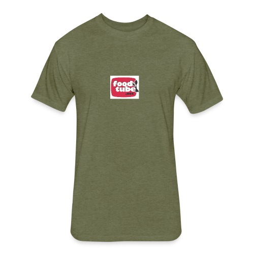 FoodTube - Fitted Cotton/Poly T-Shirt by Next Level