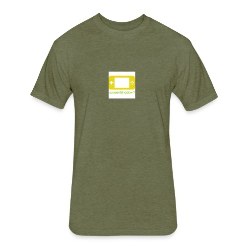 old logo - Fitted Cotton/Poly T-Shirt by Next Level