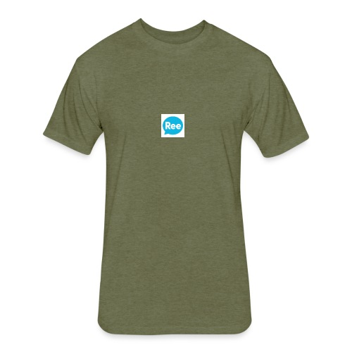 Deli 02 - Fitted Cotton/Poly T-Shirt by Next Level