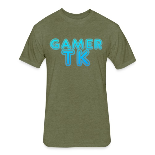 Gamer Tk logo - Fitted Cotton/Poly T-Shirt by Next Level