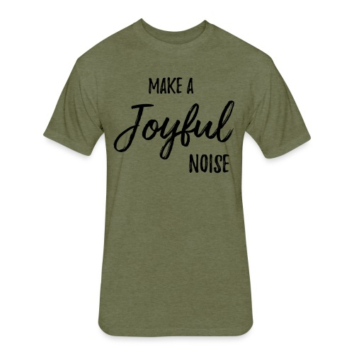 joyfulnoise2 - Fitted Cotton/Poly T-Shirt by Next Level