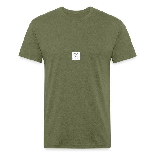 Smokey Quartz SQ T-shirt - Fitted Cotton/Poly T-Shirt by Next Level