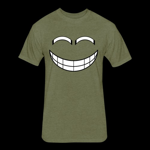 Empty Grin - Fitted Cotton/Poly T-Shirt by Next Level