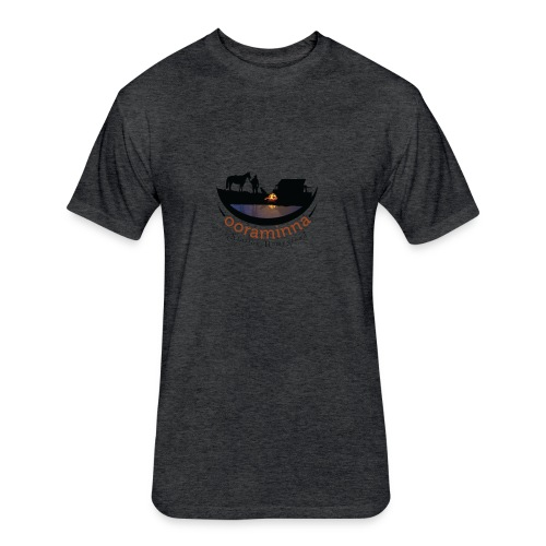 Ooraminna Station Homestead - Fitted Cotton/Poly T-Shirt by Next Level