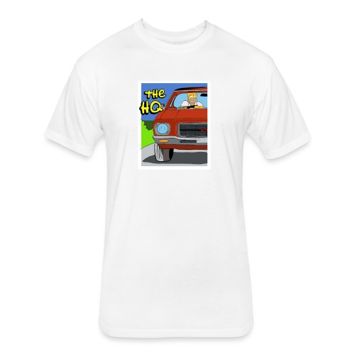 HQ SIMPSONS - Fitted Cotton/Poly T-Shirt by Next Level