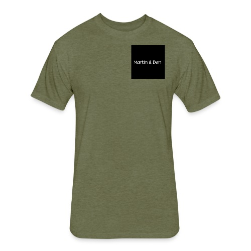 Martin And Ben Merch - Fitted Cotton/Poly T-Shirt by Next Level