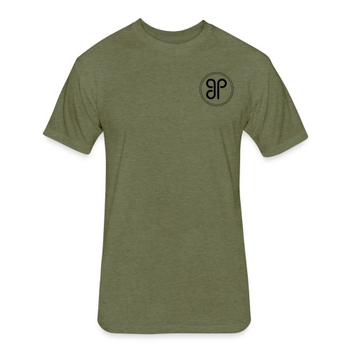 gp logo 21 - Fitted Cotton/Poly T-Shirt by Next Level