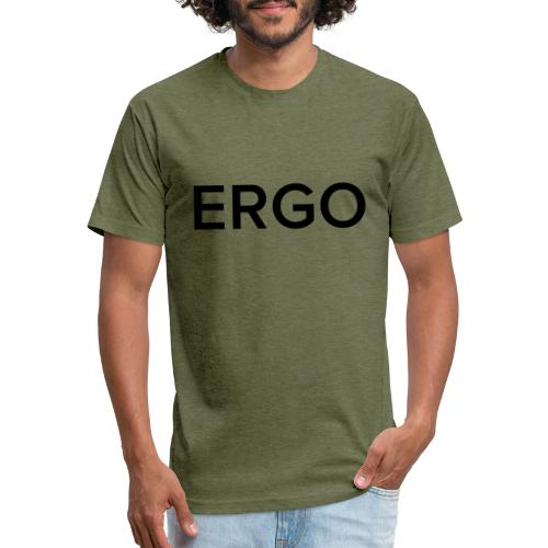 ERGO - Fitted Cotton/Poly T-Shirt by Next Level