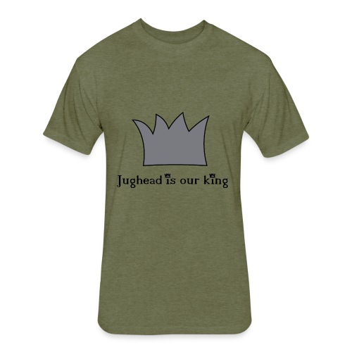 Jughead is our king - Fitted Cotton/Poly T-Shirt by Next Level