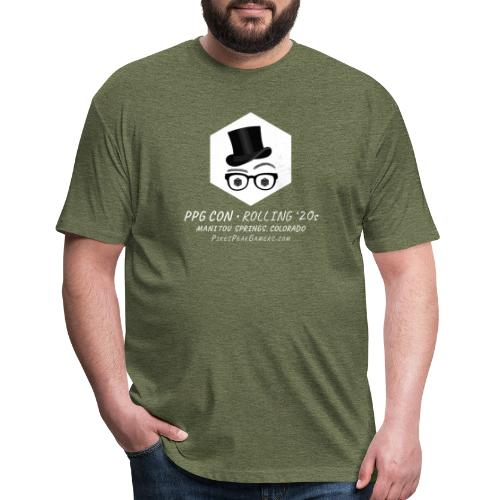 Pikes Peak Gamers Convention 2020 - Fitted Cotton/Poly T-Shirt by Next Level