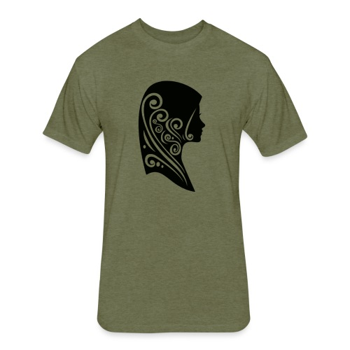 muslimah - Fitted Cotton/Poly T-Shirt by Next Level