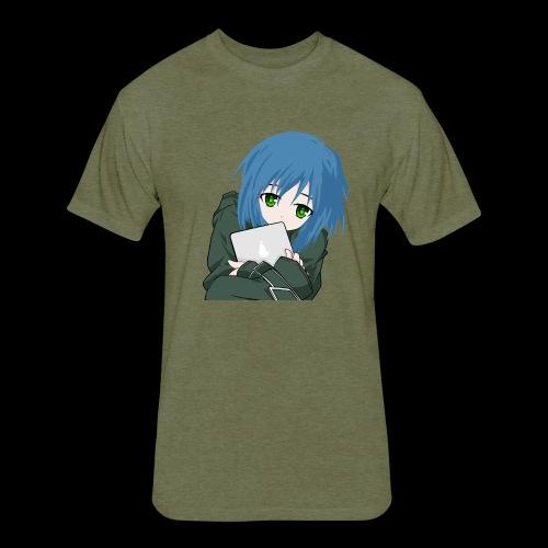 comic - Fitted Cotton/Poly T-Shirt by Next Level