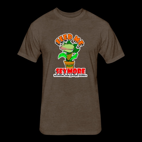 FEED ME SEYMORE - Fitted Cotton/Poly T-Shirt by Next Level