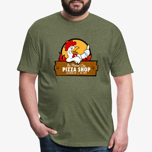 Chicken - Fitted Cotton/Poly T-Shirt by Next Level