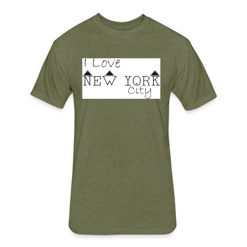 new york city - Fitted Cotton/Poly T-Shirt by Next Level