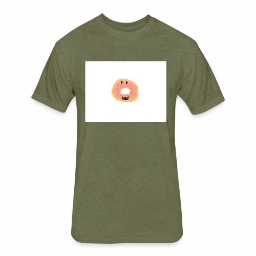 7AD9A1B4 6EA1 4CC3 900A 179BDD7CBC66 - Fitted Cotton/Poly T-Shirt by Next Level