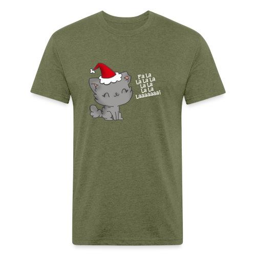 Fa La La La Laaaa - Fitted Cotton/Poly T-Shirt by Next Level