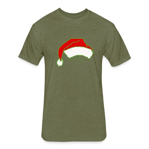 Santa Claws - Fitted Cotton/Poly T-Shirt by Next Level